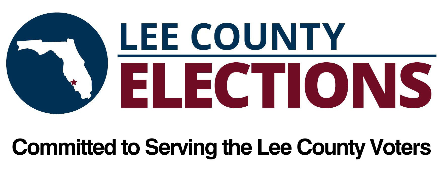 Lee C Elections landscape logo 2017